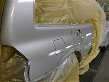 板金塗装のインプレッサ・パジェロ完成