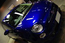 【ラディアス川崎】FIAT500のガラスコーティング