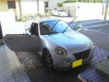 朝から洗車!