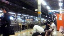 まだ名古屋駅です。