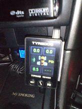 タイヤ空気圧測定器・・・1分で故障判明( iдi )