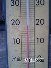 20度、寒い(((゜д゜;)))