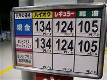 ハイオク満タン132円!