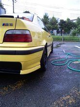 今日は洗車日