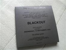 ブリグリ「BLACK OUT」を買って聞く