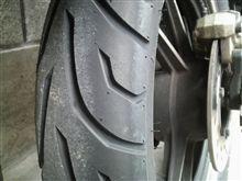 『FW』 タイヤ皮むき