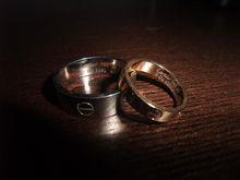 結婚指輪見つかったどぉ~♪