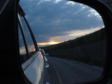 夕方のドライブ
