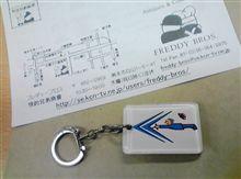 お似合いのキーホルダーを探してたら。。。(2CV/48号車)