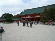 平安神宮のお庭の一部