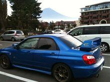 本日は富士山が良く見える場所へ出掛けてます