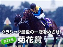 【菊花賞】PRETTY勝ち馬CLUB