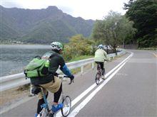 湖畔サイクリング終了♪