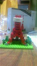東京タワー建設中4