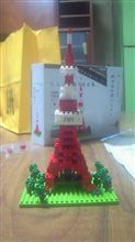 東京タワー建設中5