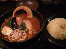 スープカレーと日本丸とウィダー