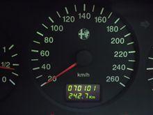 145 7万km突破と不具合