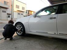 次期jデモカー!?洗車です。