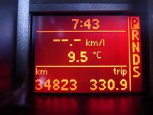今朝は寒かったですね~