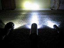 ☆ LEDライト 光量比較 ☆