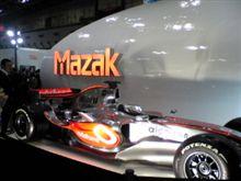 JIMTOF2010 Mazakブース(マクラーレン メルセデスF1 オフィシャルサプライヤー)