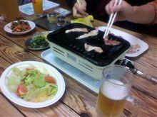焼き肉開始!