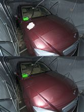 今雨が降ってますが洗車しました!