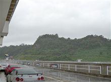 テストは、雨、雨、雨・・・・・・・・・。