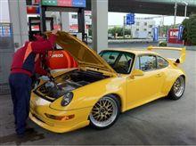 GT2レーシング…ガス欠