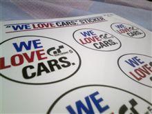 WE LOVE CARS.