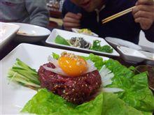 【覚書】地元韓国料理店へ