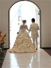 結婚式に行ってきました♪