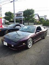 180SX(板金、全塗装)