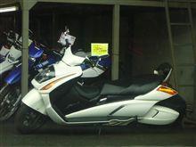 休日に見たバイク