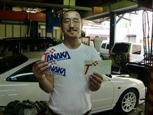 【田中オートサービス】北海道からの来客者様&イエローワークスも頑張って仕上げ中