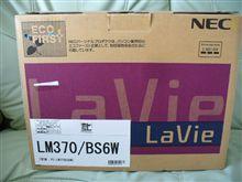 激安PCゲット♪ NEC PC-LM370BS6W(13.1インチ)