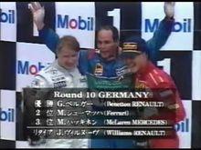 心に残るこの一戦 - 1997年F1第10戦ドイツ・グランプリ