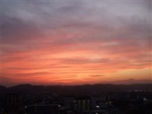 ☆秋の夕焼け☆