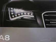 新型アウディA8・・・
