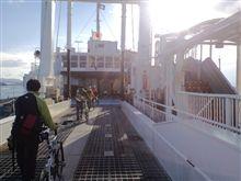 今日も船旅です♪