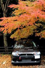 ♪紅葉の中でパチリ(^^)