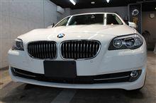 【ラディアス郡山】BMW523iのガラスコーティング