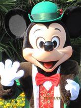 DisneySEA クリスマス衣装のミッキー♪