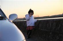 紅葉と夕日~近所ドライブ~