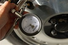 空気圧0.8キロ…