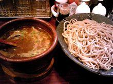 つけ麺うまぁ~~い~(=^・・^)ノ>゜)##)彡