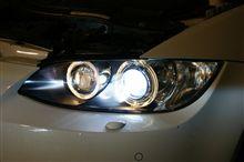 兵庫県 XCEL AUDIO (エクセルオーディオ)様 E90 M3に大人気D2 SMART PRO KITで感動の明るさ!!