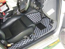 KAROマット...色々な場所に..アルファロメオ156 V6 SW....
