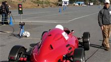 ヒストリックカーによるSHCCジムカーナを観戦