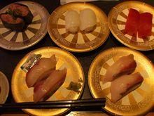"""一年振りで、回転寿司 """" 祭り """"。"""